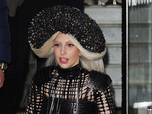 LONDON, ENGLAND - DECEMBER 07: Lady Gaga leaves her London hotel on December 7, 2013 in London, England. (Photo by Keith Hewitt/FilmMagic)