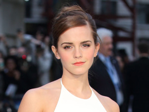 Emma Watson at the UK Premiere of Noah at Odeon Leicester Square