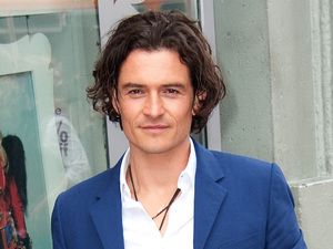Orlando Bloom is honored on the Hollywood Walk Of Fame