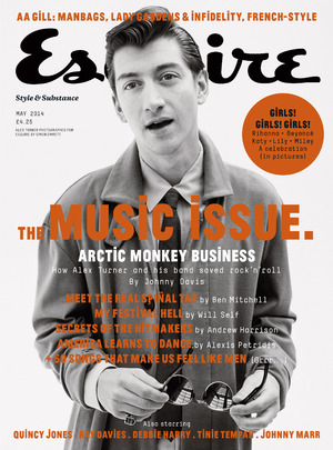 Arctic Monkeys Esquire cover.