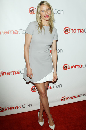 LAS VEGAS, NV - MARCH 27: Cameron Diaz attends 20th Century Fox's Special Presentation at Cinemacon 2014 - Day 4 held at The Colosseum at Caesars Palace on March 27, 2014 in Las Vegas, Nevada. (Photo by  2014 Michael Tran )