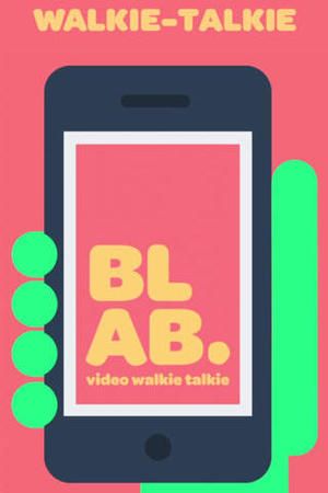 Screenshot of the Blab app for iOS