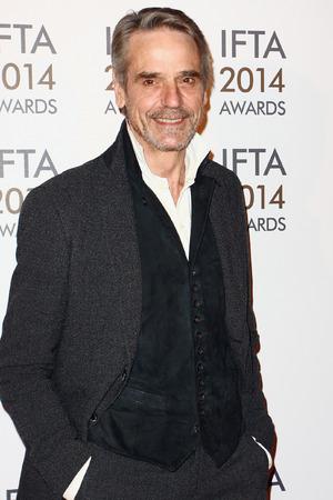 Irish Film And Television Awards: Jeremy Irons