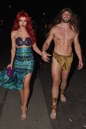 Rochelle Humes Disney themed birthday party Una Healey, Ben Foden
