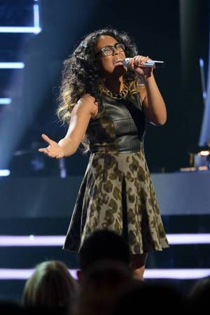Malaya Watson performs on American Idol as part of the Top 8 performances