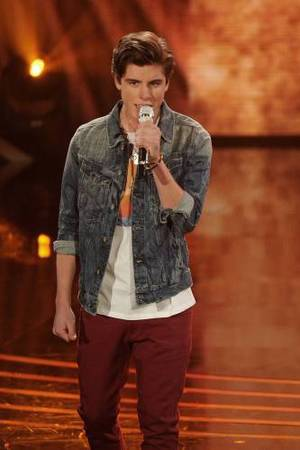 Sam Woolf and Malaya Watson perform on American Idol as part of the Top 8 performances