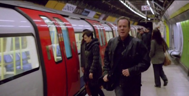 Jack Bauer on the tube in '24' trailer