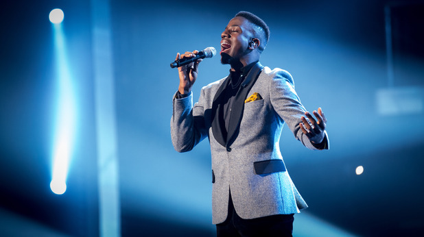 The Voice finalist Jermain Jackman sings 'And I Am Telling You I'm Not Going' from the musical Dreamgirls