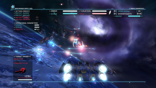 Strike Suit Zero: Director's Cut is an expanded version of the PC game for PS4 and Xbox One