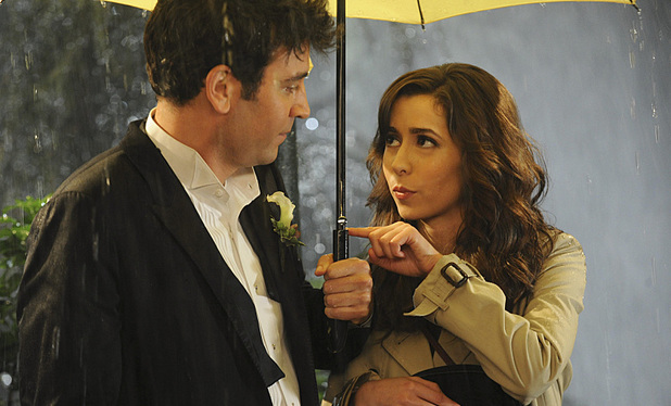 Josh Radnor as Ted & Cristin Milioti as Tracy in the How I Met Your Mother season finale: 'Last Forever Parts One and Two'