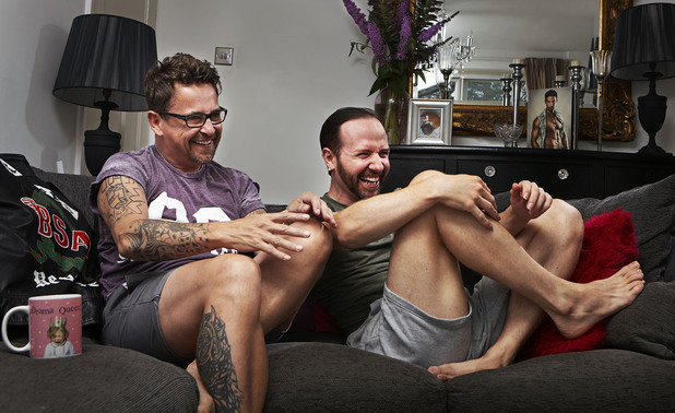 Gogglebox's Stephen & Chris
