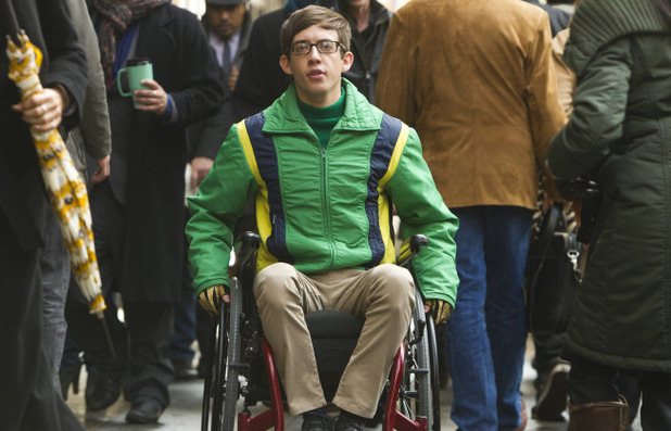 Kevin McHale as Artie in Glee S05E14: 'New New York'