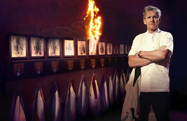 Gordon Ramsey on Hell's Kitchen