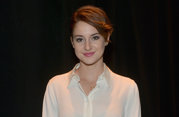LAS VEGAS, NV - MARCH 27: Female Star of Tomorrow award winner actress Shailene Woodley attends The CinemaCon Big Screen Achievement Awards brought to you by The Coca-Cola Company during CinemaCon, the official convention of the National Association of Theatre Owners, at The Colosseum at Caesars Palace on March 27, 2014 in Las Vegas, Nevada. (Photo by Charley Gallay/Getty Images for CinemaCon)