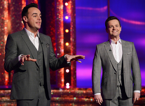 Ant and Dec on Saturday Night Takeaway