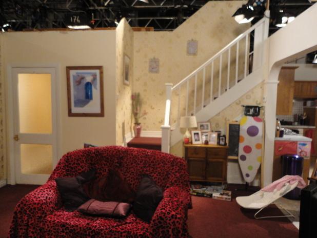 The set for the Platt family home