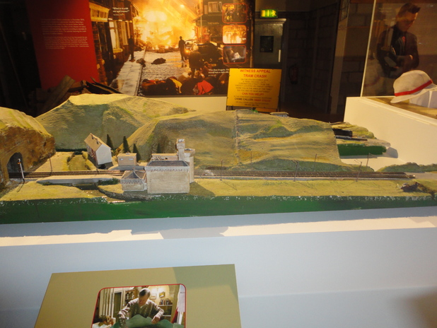 Roy Cropper's train set
