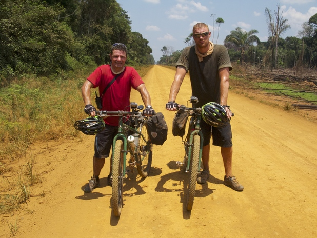 Freddie Flintoff and Rob Penn on Flintoff's Road To Nowhere