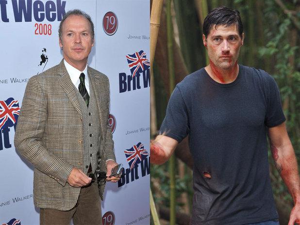 Michael Keaton & Matthew Fox in Lost