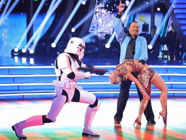 Billy Dee Williams on Dancing With The Stars