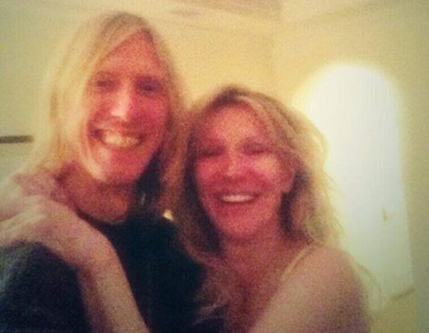 Hole's Courtney Love and Eric Erlandson reunite for Facebook picture