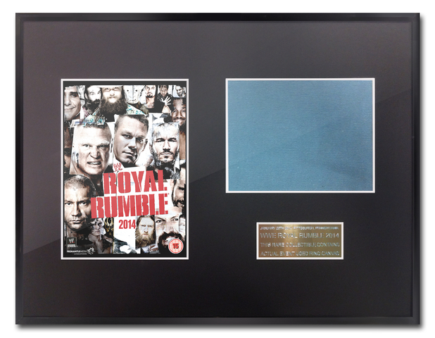 Royal Rumble 2014 canvas square