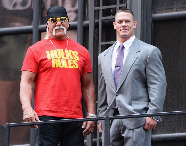 John Cena and Hulk Hogan