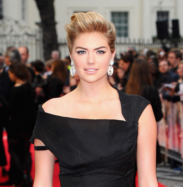 Caption:LONDON, UNITED KINGDOM - APRIL 02: Kate Upton attend the UK Gala premiere of 'The Other Woman' at The Curzon Mayfair on April 2, 2014 in London, England. (Photo by Anthony Harvey/Getty Images)