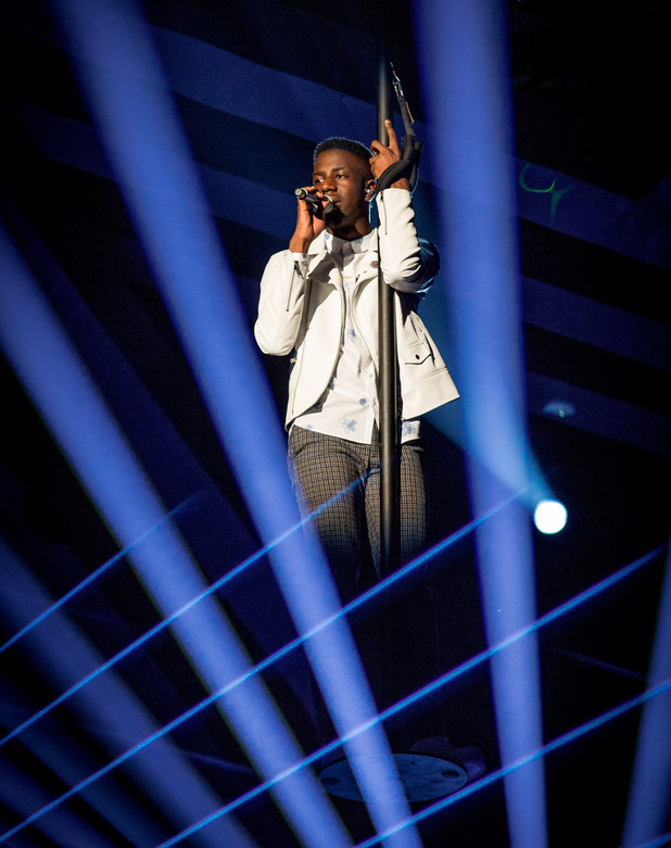 The Voice finalist Jermain Jackman sings 'Wrecking Ball' by Miley Cyrus