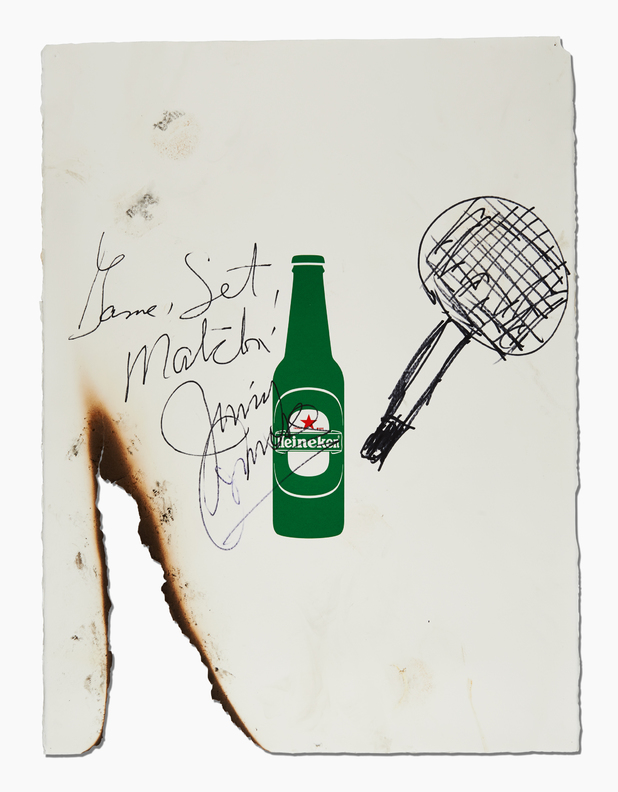 Jimmy Connors Reporters Without Borders poster