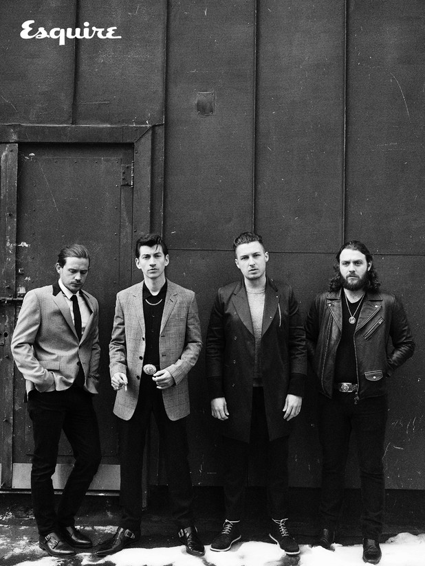 Arctic Monkeys Esquire shoot.