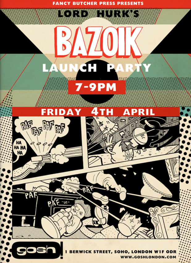 Lord Hurk's Bazoik launch party