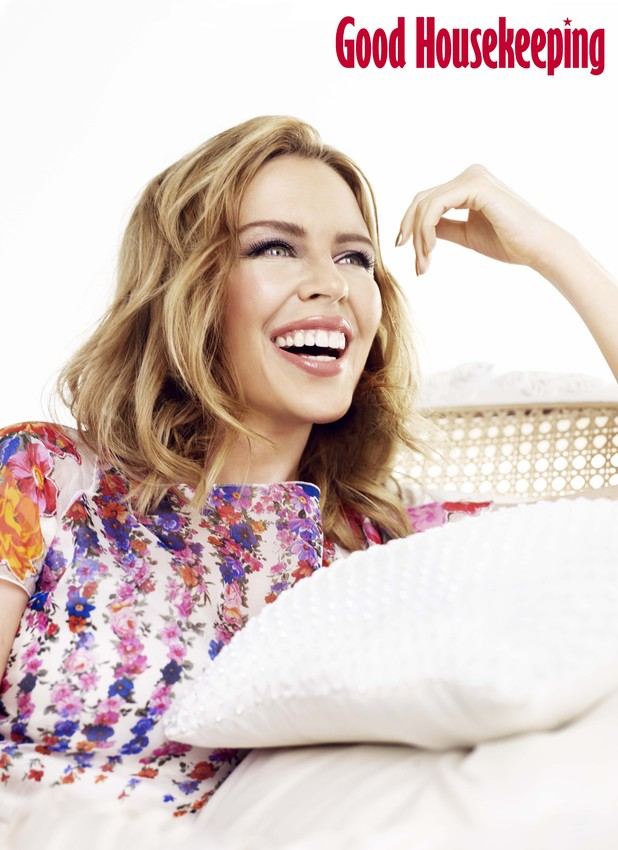 Kylie Minogue in Good Housekeeping