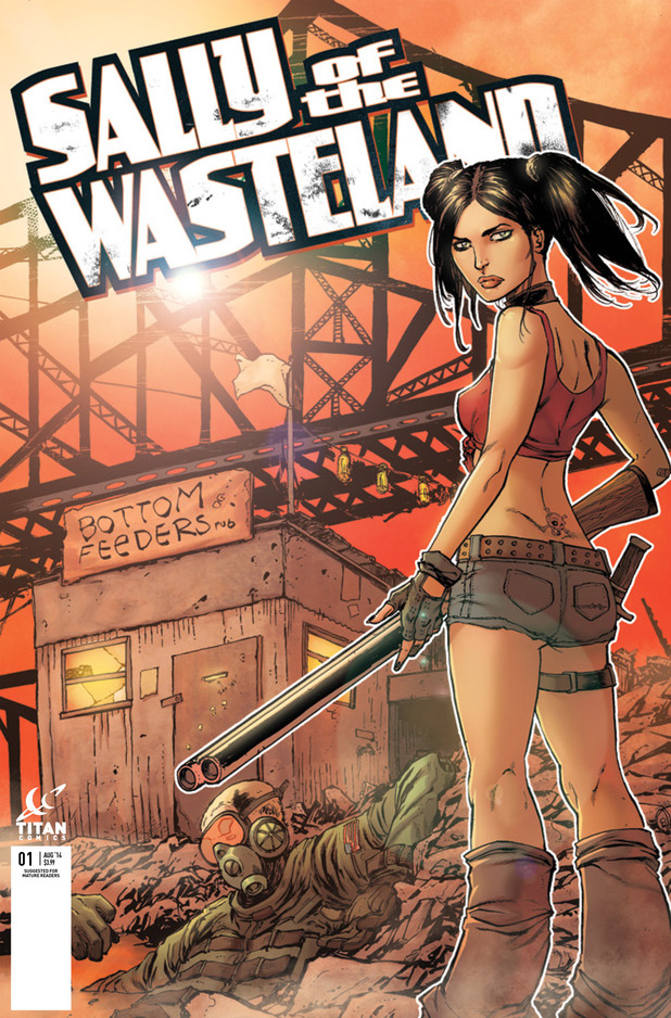 Sally of the Wasteland Tim Seeley variant