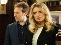 Charity and Declan are the talk of The Woolpack in tonight's episodes.