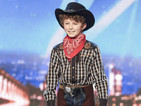 Britain's Got Talent: Boy, 11, throws knives at Simon Cowell - video
