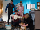 EastEnders: Lady Di goes into labour - spoiler pictures