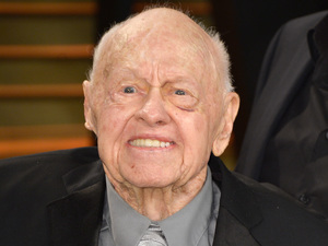 Mickey Rooney attends the 2014 Vanity Fair Oscar Party hosted by Graydon Carter on March 2, 2014