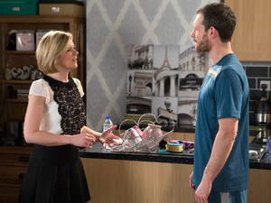 Nick has a shock in store for Kal and Leanne