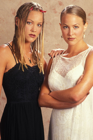 Sweet Valley High twins, Brittany Daniel, Cynthia Daniel