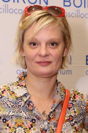BEVERLY HILLS, CA - JANUARY 11: Actress Martha Plimpton attends the HBO Luxury Lounge featuring PANDORA Jewelry at Four Seasons Hotel Los Angeles at Beverly Hills on January 11, 2014 in Beverly Hills, California. (Photo by Rachel Murray/WireImage)