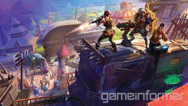 Fortnite Game Informer cover