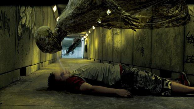 A dementor in 'Harry Potter and the Order of the Phoenix'