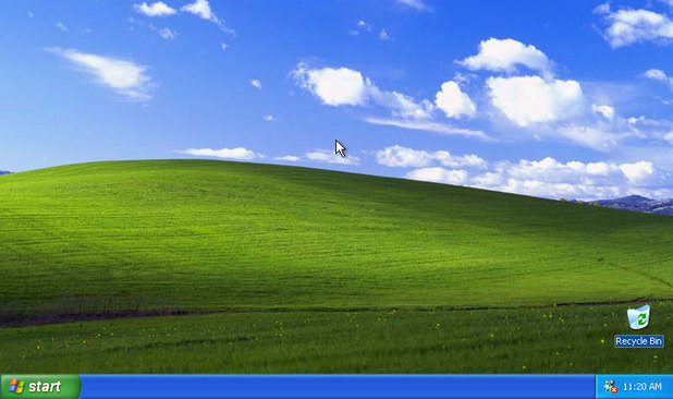 A screenshot of the Windows XP desktop