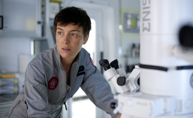 Olivia Williams in The Last Days on Mars
