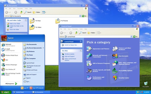 Microsoft's Windows XP operating system