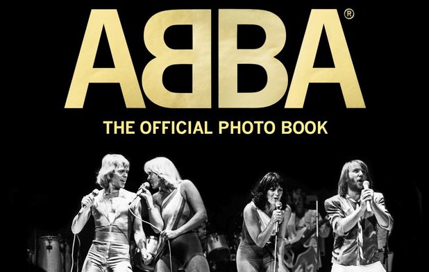 ABBA: 'The Official Photo Book' cover.
