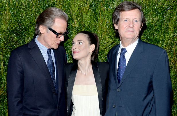 'Turks and Caicos' film screening hosted by Vogue at the Cinema Society, New York, America - 07 Apr 2014 Bill Nighy, Winona Ryder, Sir David Hare 7 Apr 2014