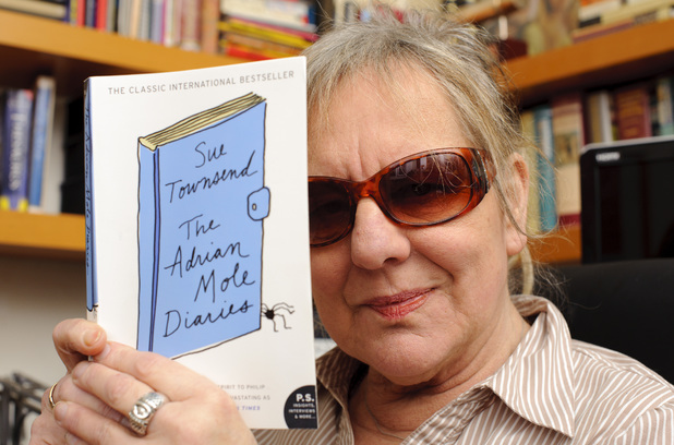 Adrian Mole author Sue Townsend