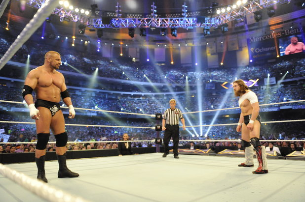 Daniel Bryan eye-to-eye with Triple H - WrestleMania 30 ...